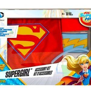 DC Super Hero Girls SuperGirl Accessory Kit Age 4+